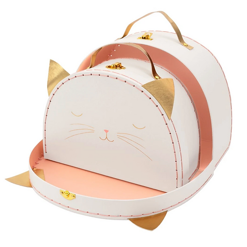 Meri Meri - Cat Suitcases