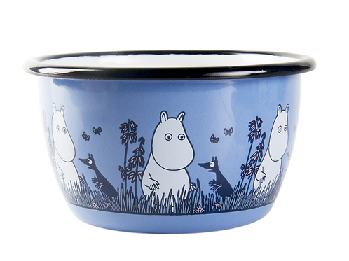 "Moomin Friends ""Moomintroll"" bowl 300ml - Muurla"