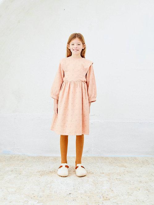 LIILU - Eleonore Dress Pink Sand