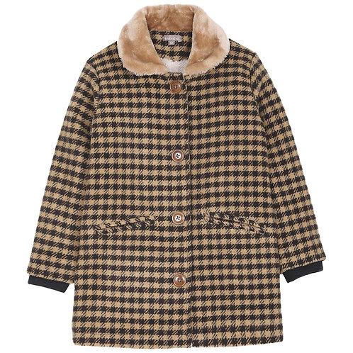 Emile et ida - Manteau Girl Coat Beige