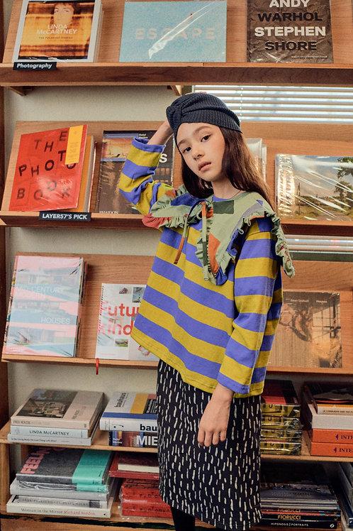 En:Paper - Purple Stripe T Shirt