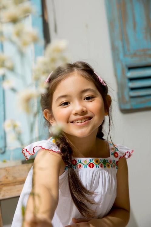 Kidsagogo - Jour Dress White