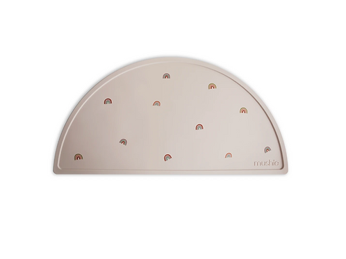 Mushie - Silicone Place Mat (Rainbows)