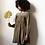 Thumbnail: Emile et ida - Tooth Smocked Viscose Girl Dress