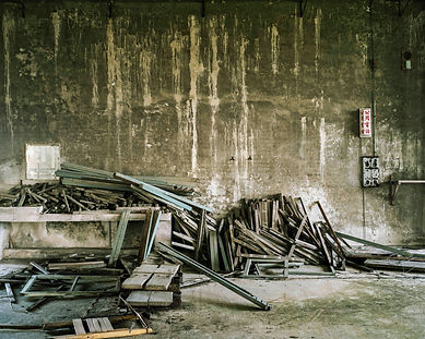 This used to be a factory in Taiwan