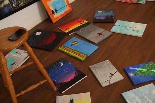 paint night paintings