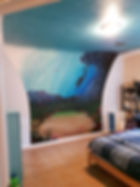 underwater bedroom wall mural
