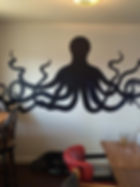 wall mural for restaurant