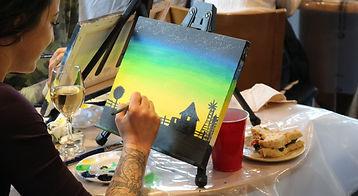 paint party in edmonton
