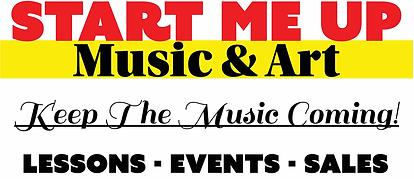 start me up music & art