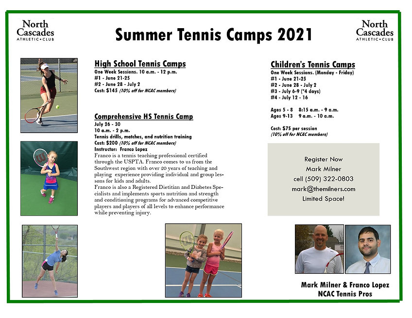 Summer tennis camp '21[23058430092139671