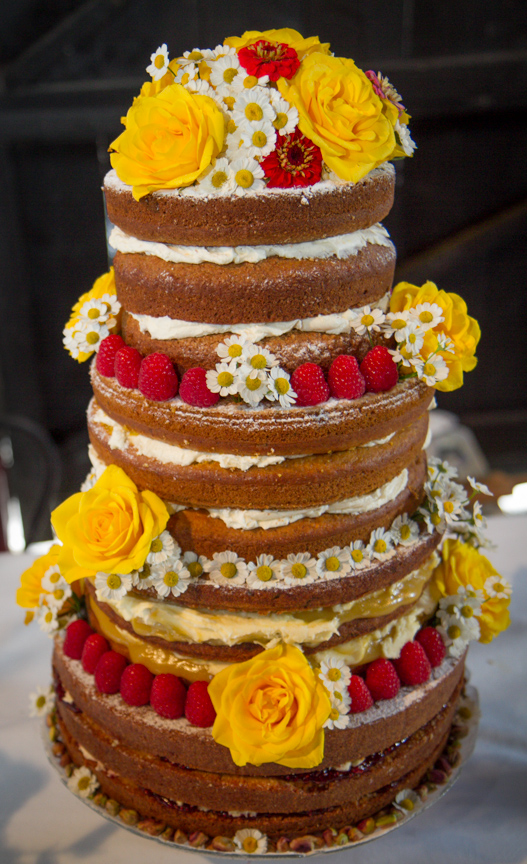 4 Tiered Vegan Wedding Cake