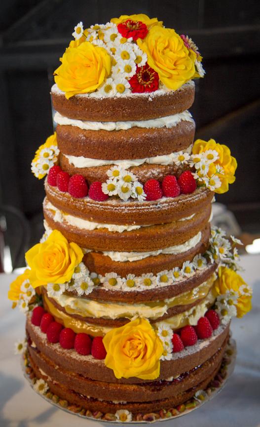 4 Tiered Vegan Wedding Cake