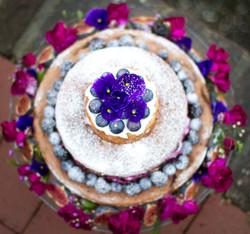 Spelt Berry Cake