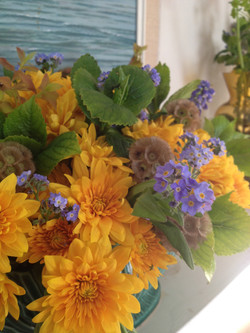 Forget-me-nots, Chrysanths, Mint...