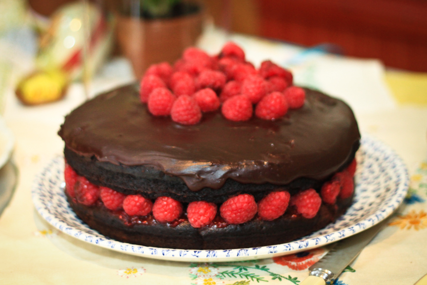 Vegan Chocolate Raspberry