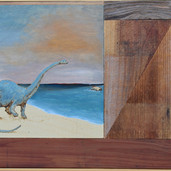 Brontosaurus Pondering His Fate