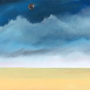 Doorway: Blue Sky, Yellow Desert