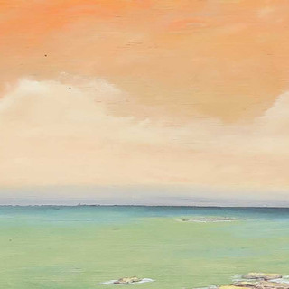 Orange Sky, Green Sea