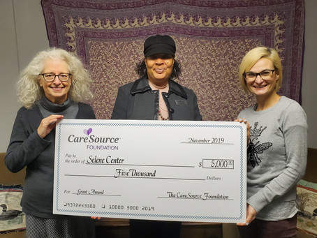 Selene Center receives CareSource Grant