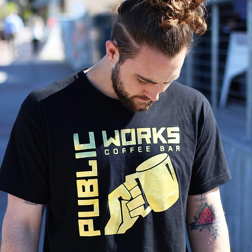 Black & Gold PWCB Tee