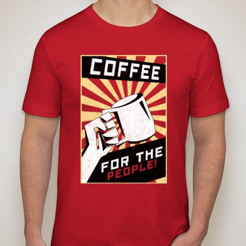 Coffee For The People Tee