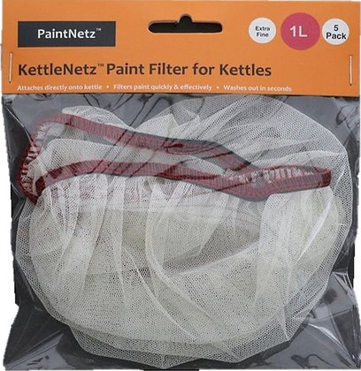KettleNetz Paint Filter Extra Fine 1Ltr Kettle