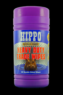 Hippo Heavy Duty Wipes 80 pack
