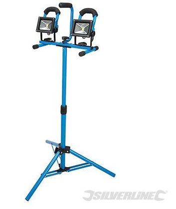 LED Tripod Twin Site Light
