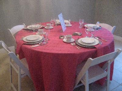 Event Rental Showroom