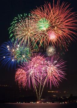 Fireworks Backdrop