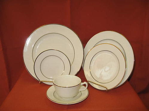 Ivory with Gold Trim China