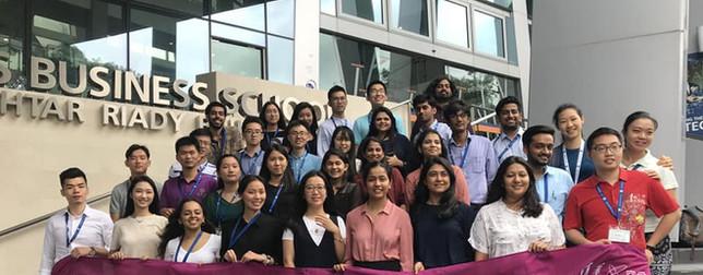 Asia Innovation & Entrepreneurship Immership Programme at National University of Singapore in 2018