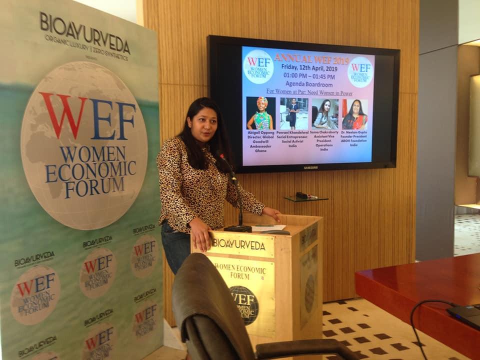 Pawani Khandelwal at Women Economic Forum