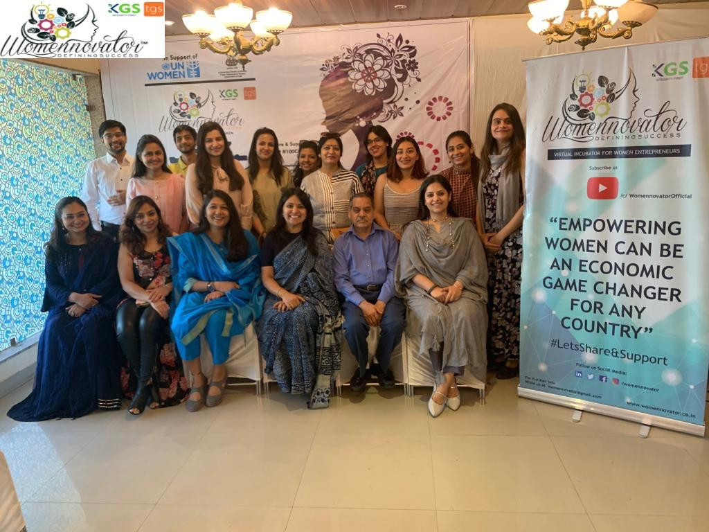 Launch of Womennovator in Mathura