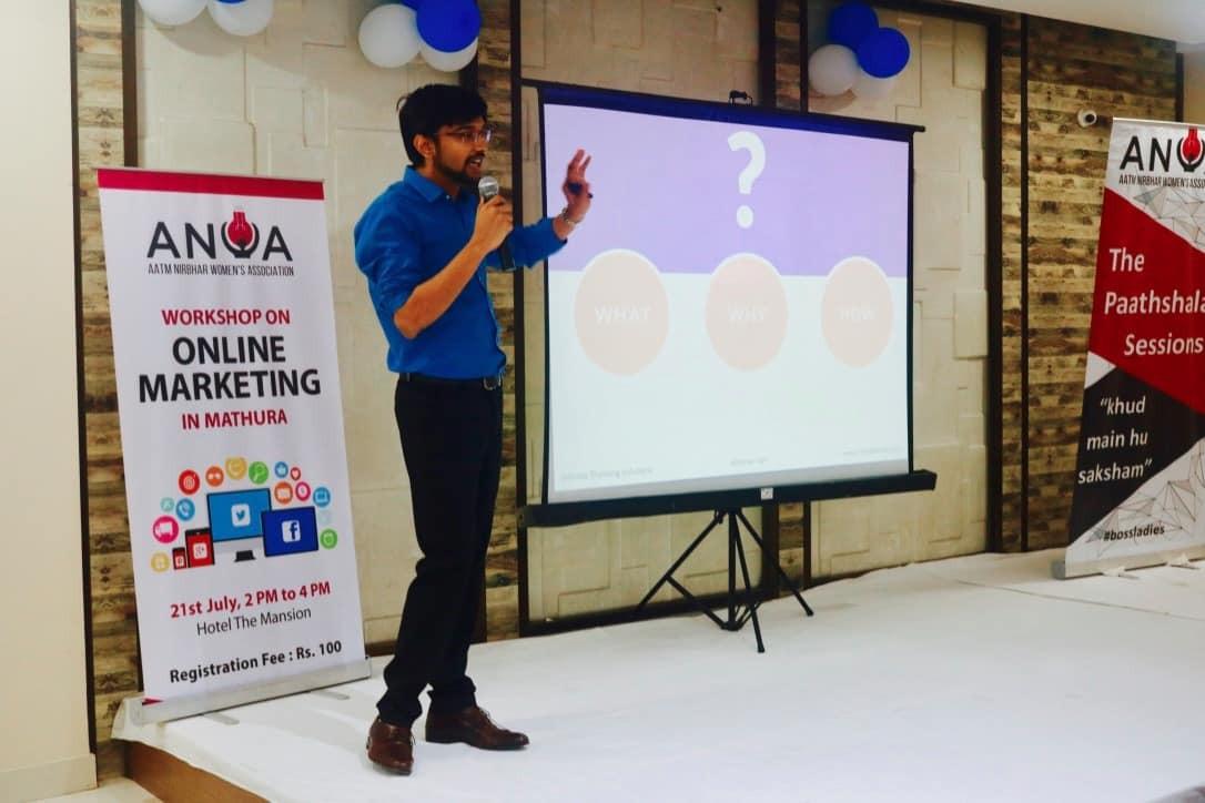 Pathshaala session on Online marketing by Abhinav Jain