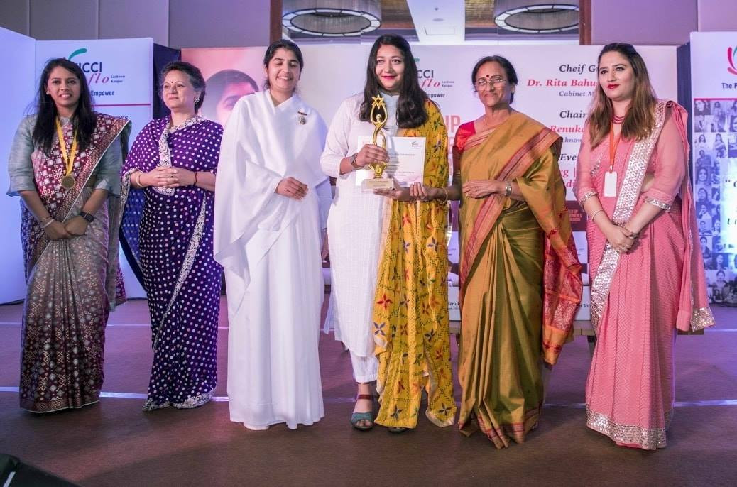 "FICCI FlO UP Award for ""Outstanding work for skilling women in sustainable livelihoods"" (2019)"