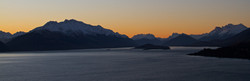 Sunset in Glenorchy Valley