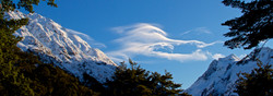 Clouds in the routeburn track valley