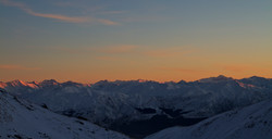 Sunrise from the Remarkables
