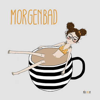 "Notizblock ""Morgenbad"""