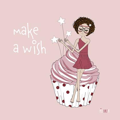 "Notizblock ""make a wish"""