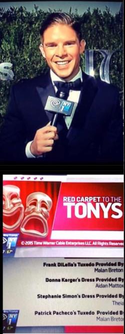 NY1 - Tony Awards