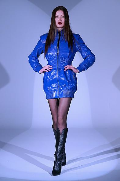 Victoria Leather dress