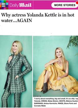 Daily Mail - Yolanda Kettle