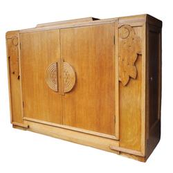 Art Deco 1930s Beautility oak sideboard