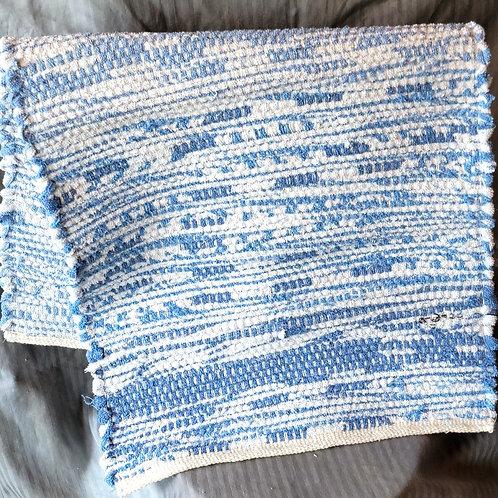 Blue Towel Rug