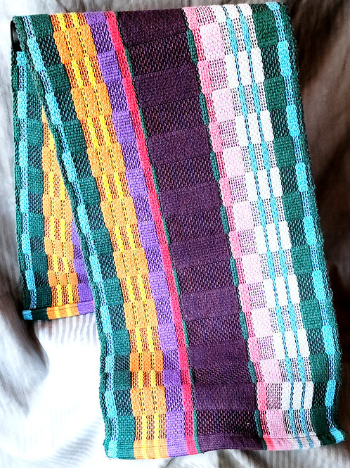 Multi-colored Halvdrall Table Runner