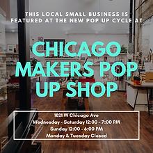Chicago Makers PopUp Shop