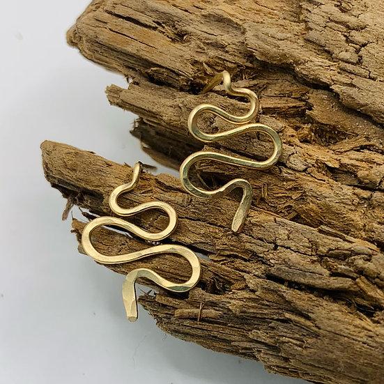 MEDUSA Snake Stud Earrings